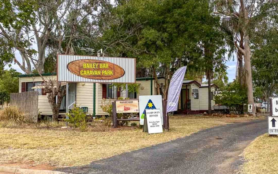 Review of Bailey Bar Charleville Caravan Park