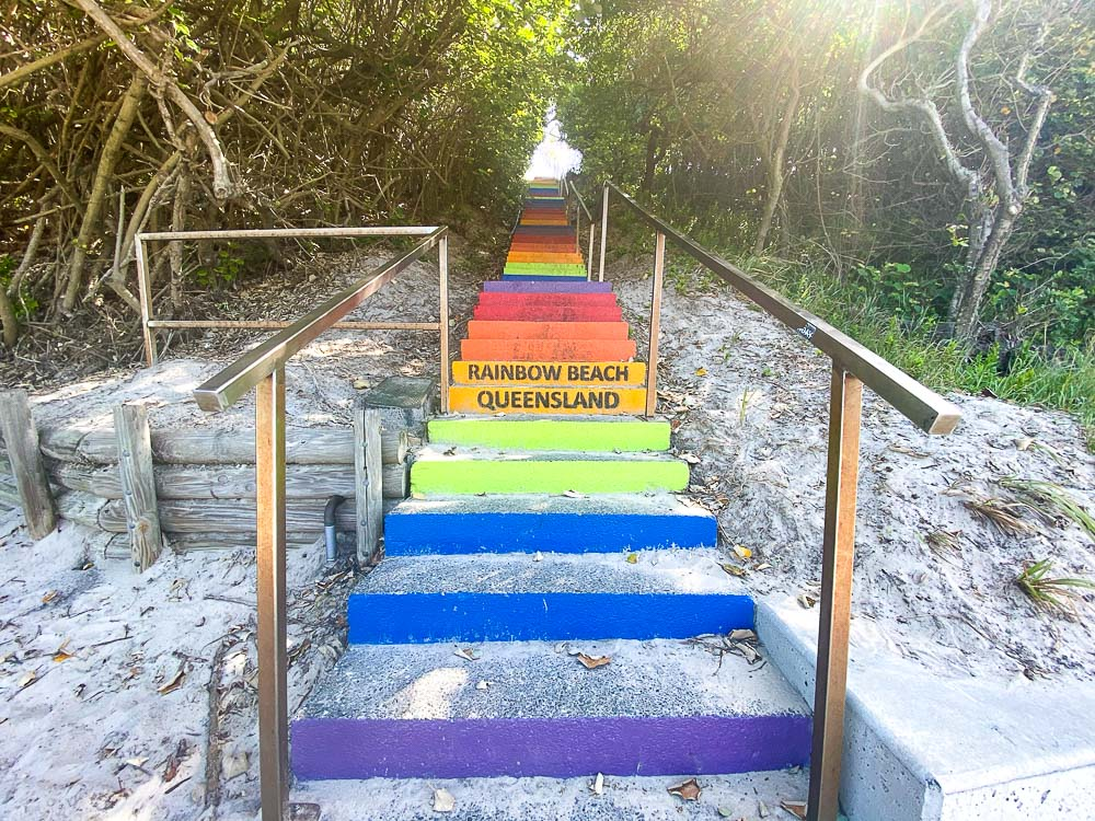 Things to do in Rainbow Beach - Rainbow Stairs