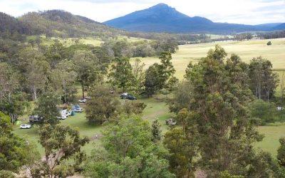 Mt Barney Lodge: Camping